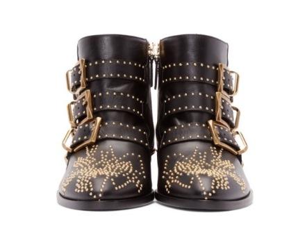 Chloe Susanna Boots in Black