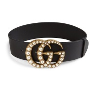 Gucci Marmont Large GG Pearl Belt