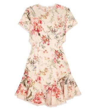 Zimmermann - Floral Mercer Dress