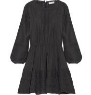 LoveShackFancy Black Dress