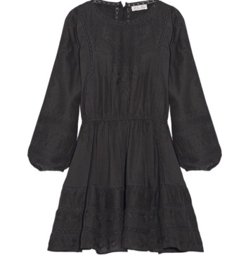 LoveShackFancy Black Dress
